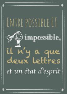 Tableau citation positive : entre possible et impossible