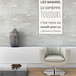 tableau-poster-personnalise-citation-les-mamans-ca-pardonne-toujours