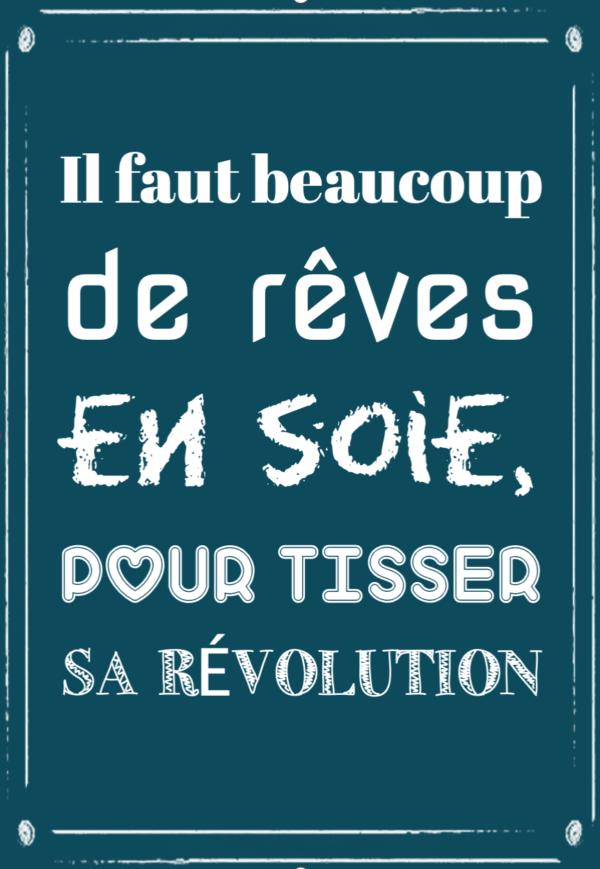"""tableau ou poster personnalisé """"sa révolution"""""""