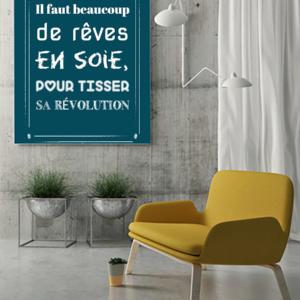 """tableau ou poster personnalisé """"sa revolution"""""""