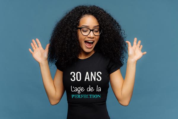 t-shirt personnalisé femme -anniversaire