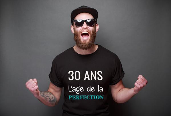 t-shirt personnalisé homme- anniversaire